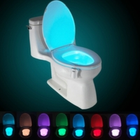 LED Подсветка для унитаза с датчиком движения освещение туалета