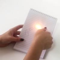 Волшебная ручка с исчезающими чернилами от огня Идея