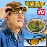 Очки-маска HD Vision WrapArounds для защиты днем и ночью.
