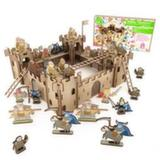 Крепость в комплекте с королевской армией и армией нежити (Коробка, упаковка)