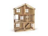 Домик трёхэтажный с лесенкой